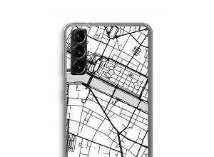 Put a city map on your Galaxy S21 Plus case