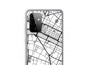 Put a city map on your Galaxy A72 5G case