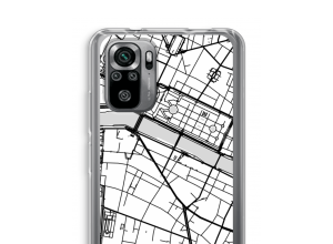 Put a city map on your Redmi Note 10S case