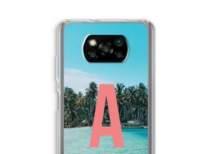 Make your own Poco X3 NFC monogram case